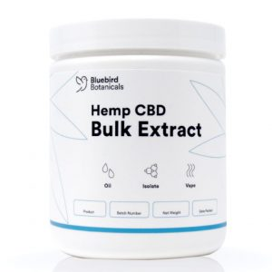 Bluebird Botanicals Bulk CBD Isolate