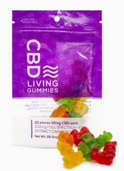 CBD Living Drinks and Edibles