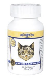 CBD Living Gel Capsules for Cats