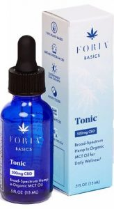 Foria Basics Tonic (Oral CBD Supplement)