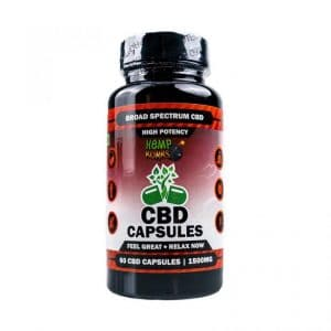 HB High Potency CBD Capsules
