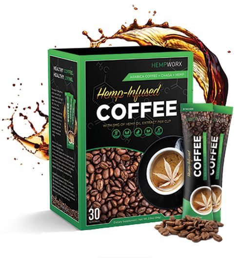 HempWorx CBD-infused Coffee