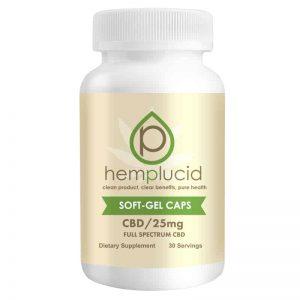 Hemplucid CBD Gel Capsules