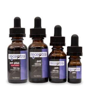 Receptra Naturals CBD for Pets