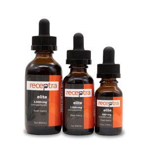 Receptra Naturals CBD Oil Hemp Elite