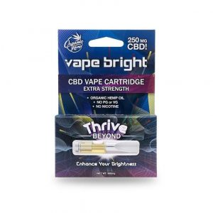 Vape Bright Thrive Beyond CBD Vape Cartridge
