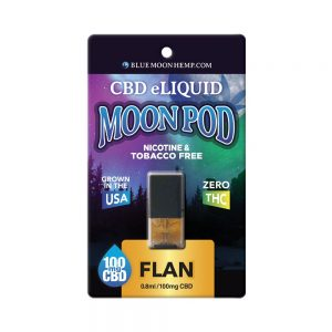 Blue Moon Hemp Flan for Vape