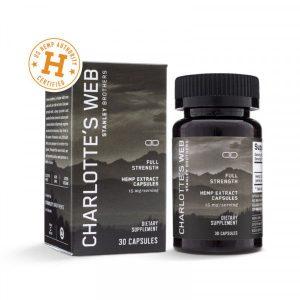 Charlotte's Web CBD Oil Liquid Capsules