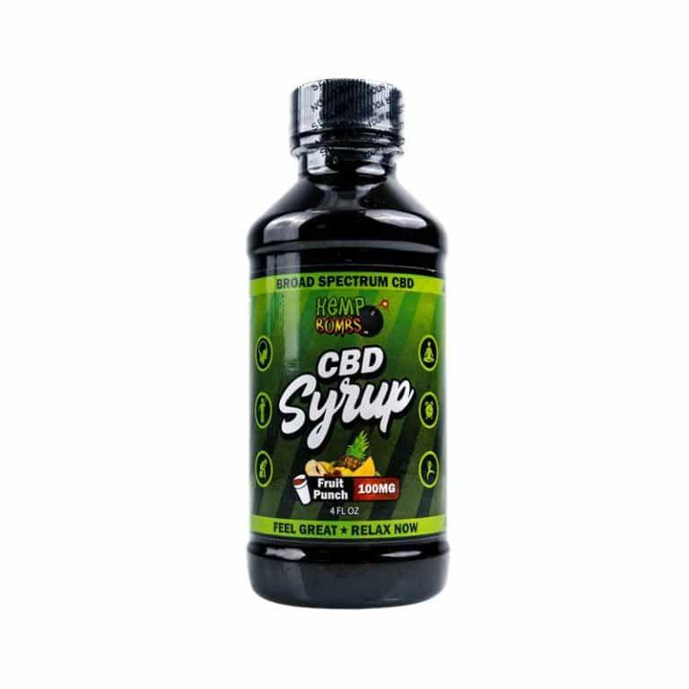 Hemp Bombs CBD Syrup