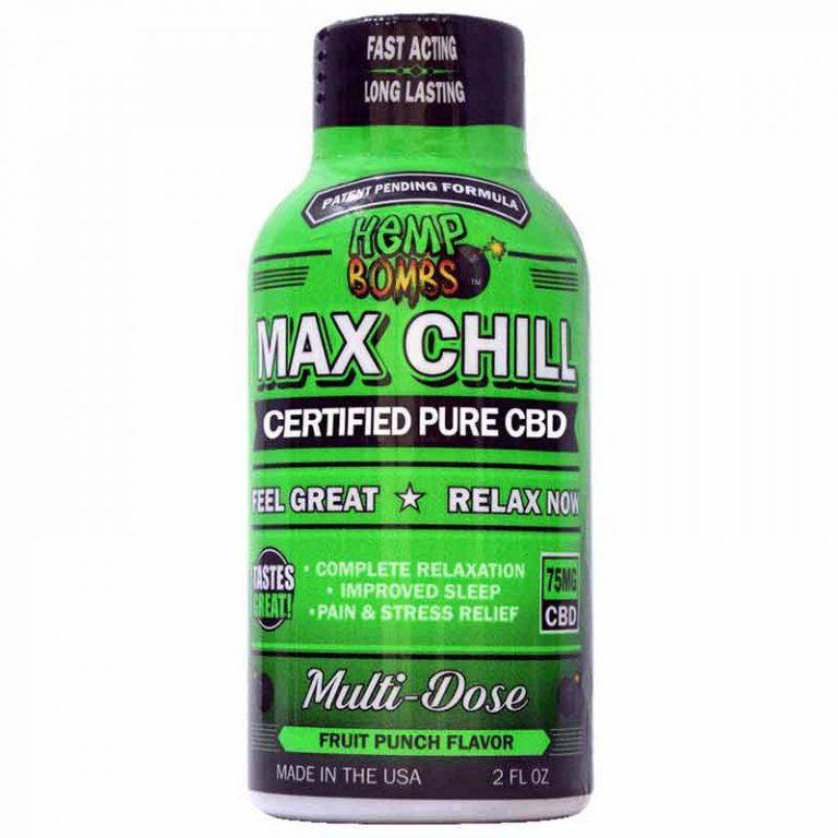 Hemp Bombs Max Chill Shot