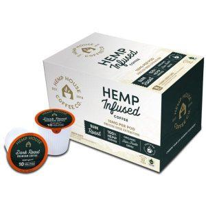 Hemp House Dark Roast CBD Coffee