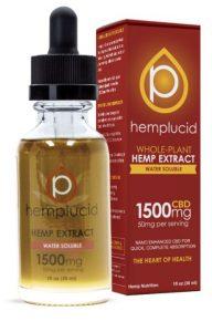 Hemplucid Tincture Water Soluble