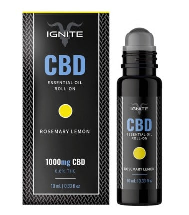 Ignite CBD Essential Oil Roll-on