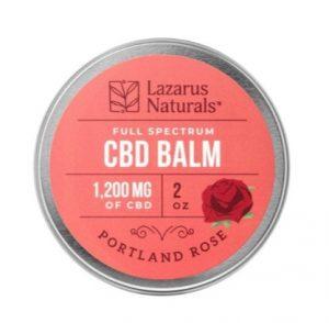 Lazarus Naturals Portland Rose Best CBD Balm