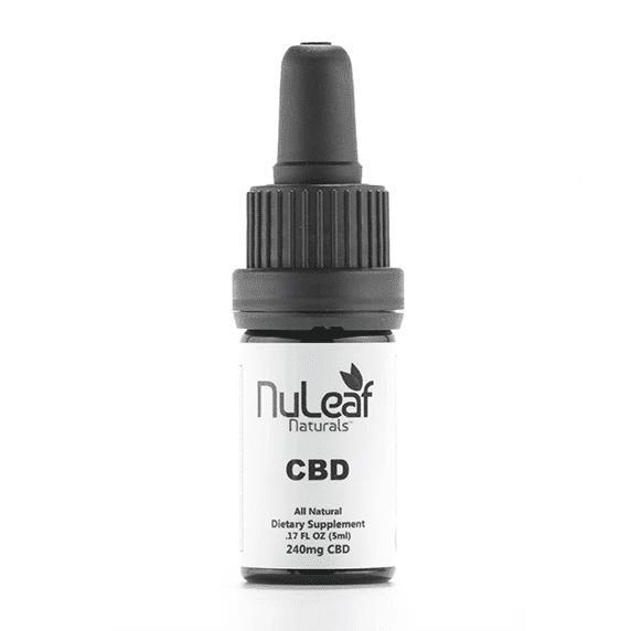 Nuleaf Full Spectrum Hemp CBD Oil for inflammation
