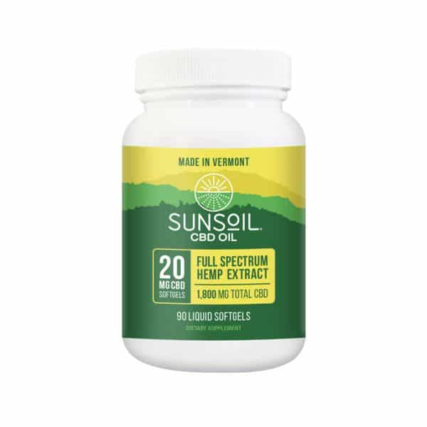 Sunsoil CBD Softgels