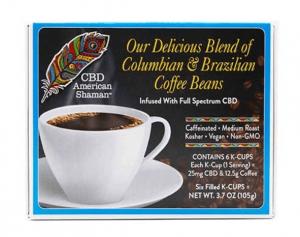 American Shaman best CBD Coffee