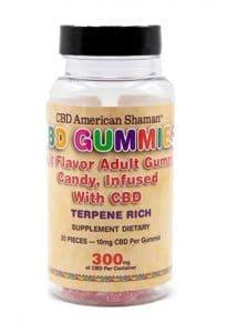American Shaman strongest CBD Gummies