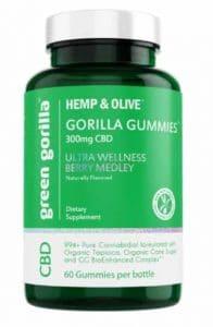 green gorilla cbd gummies