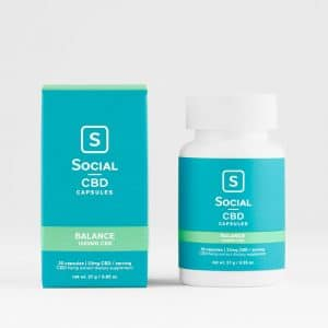 Social CBD Gel Capsules