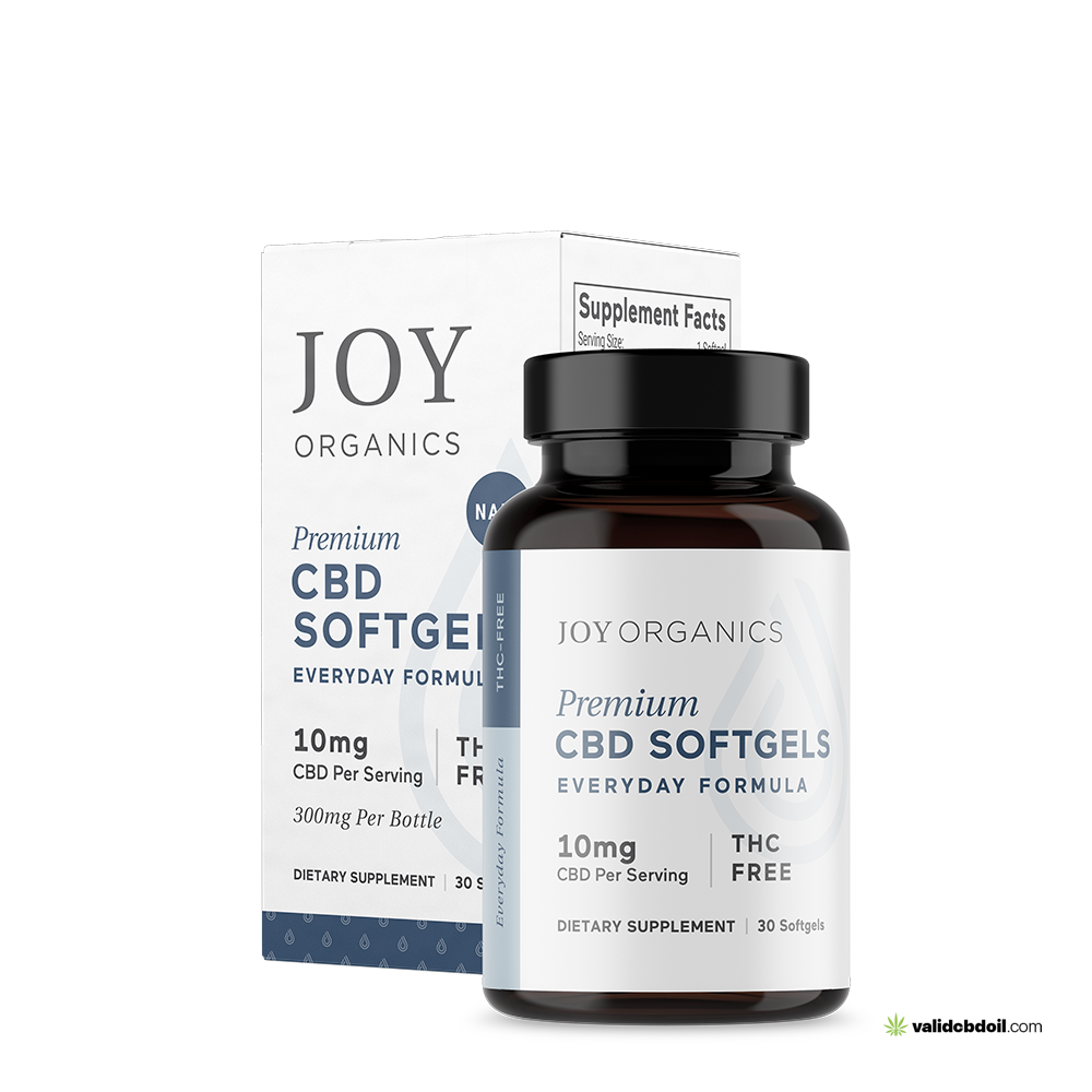 Joy Organics – CBD Softgels