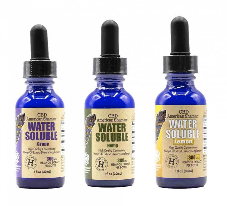 CBD American Shaman Water Soluble Hemp Oil