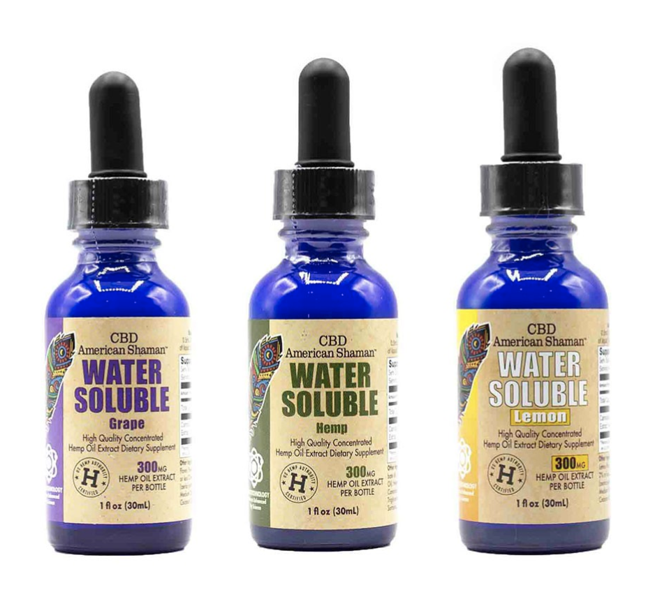 CBD American Shaman Water Soluble Hemp Oil