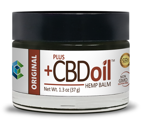PlusCBD Oil Raw CBD Balm Original