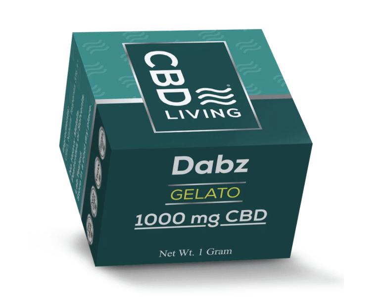 CBD Living Dabz Shatter