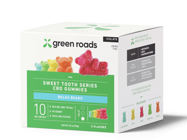 Green Roads Relax CBD Bears
