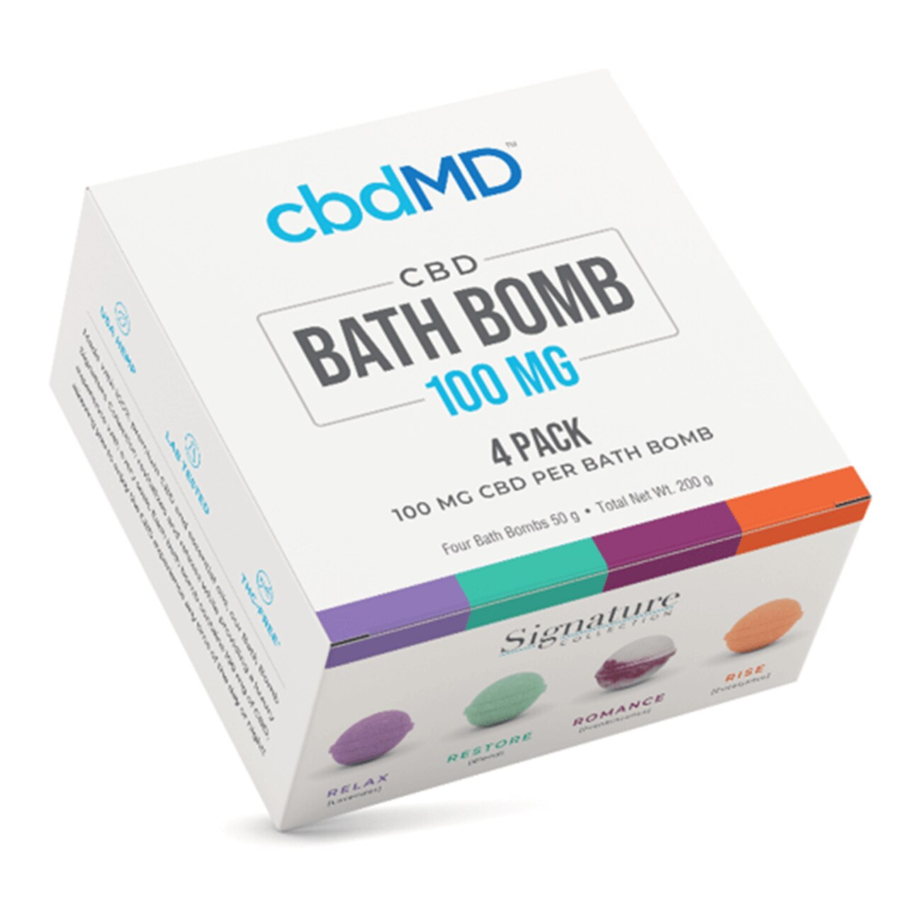 cbdMD Bath Bombs