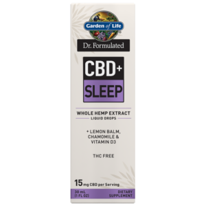 Garden of Life and Dr. Formulated CBD+ Sleep