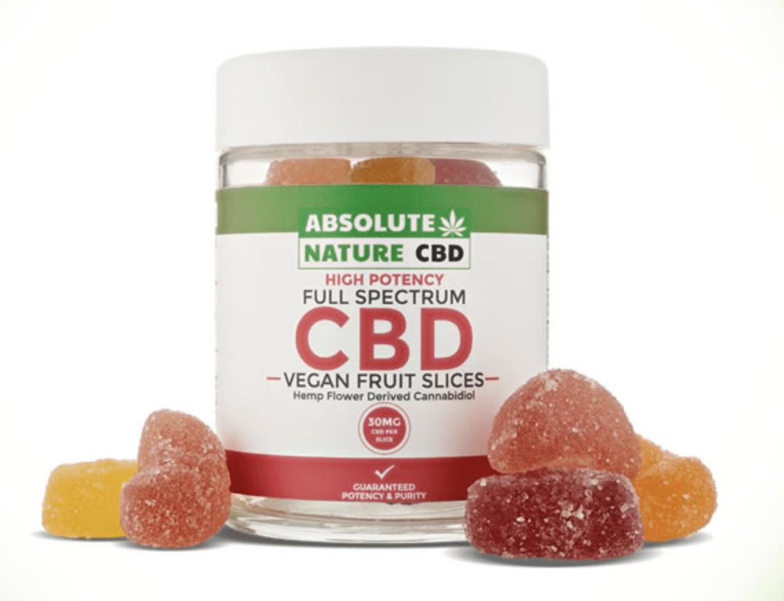 CBD Fruit Slice Gummies by Absolute CBD