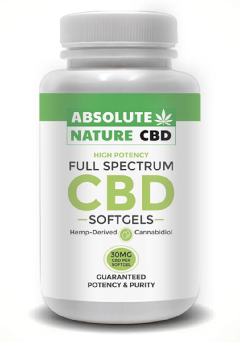 CBD Oil Softgels by Absolute Nature CBD