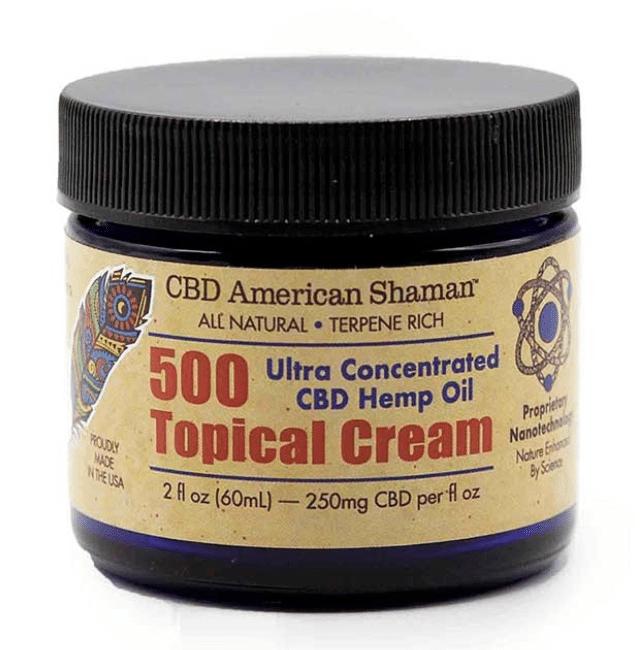 American Shaman Cbd Muscle Cream