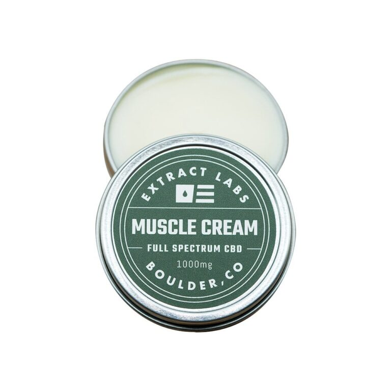 CBD Muscle Cream by Extract Labs