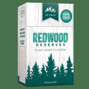 Redwood Reserves Menthol CBD Cigarettes